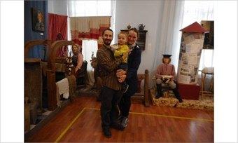 ВДетском музее Череповца побывала семья изАнглии
