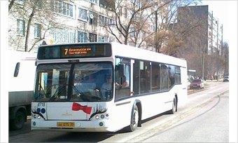 ВЧереповце автобусы маршрутов №7и №31вернулись насвои обычные маршруты