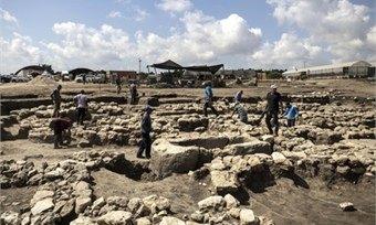 ВИзраиле «откопали» древний город, которому более 5тысяч лет