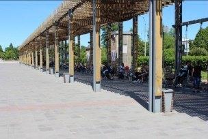Территория уДворца металлургов будет благоустроена текущем летом