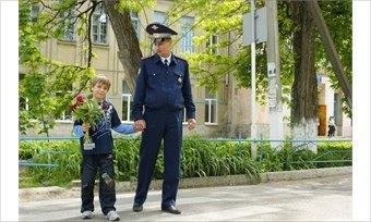 Череповецкая автоинспекция провела акцию сошкольниками