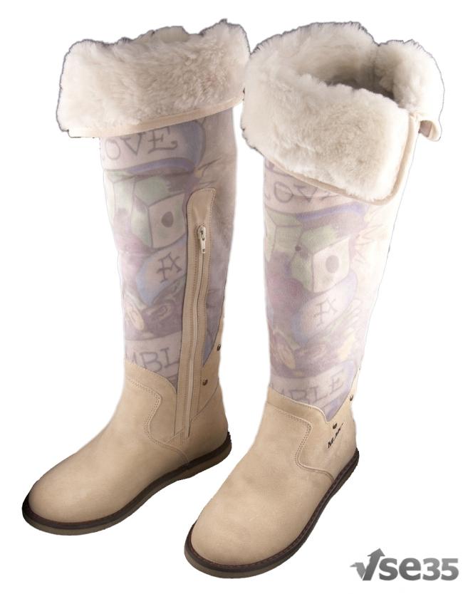 Купить Женские Зимние Сапоги С Натуральным Мехом