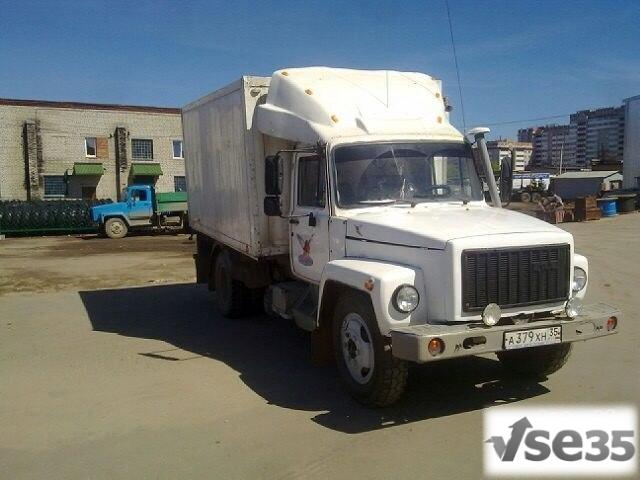 ГАЗ 3309, термофургон, дизель, 4,5 т, состояние хорошее, двигатель после капитального ремонта.