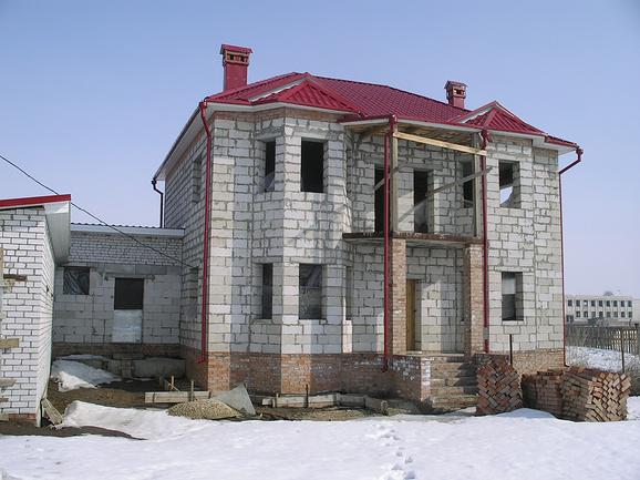 Строительство домов из пеноблоков ( из пенобетона)